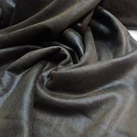 Ткань дубляж коричневый