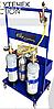 Сервісний візок для промивання та пошуку витоків для систем кондиціонування, фото 4