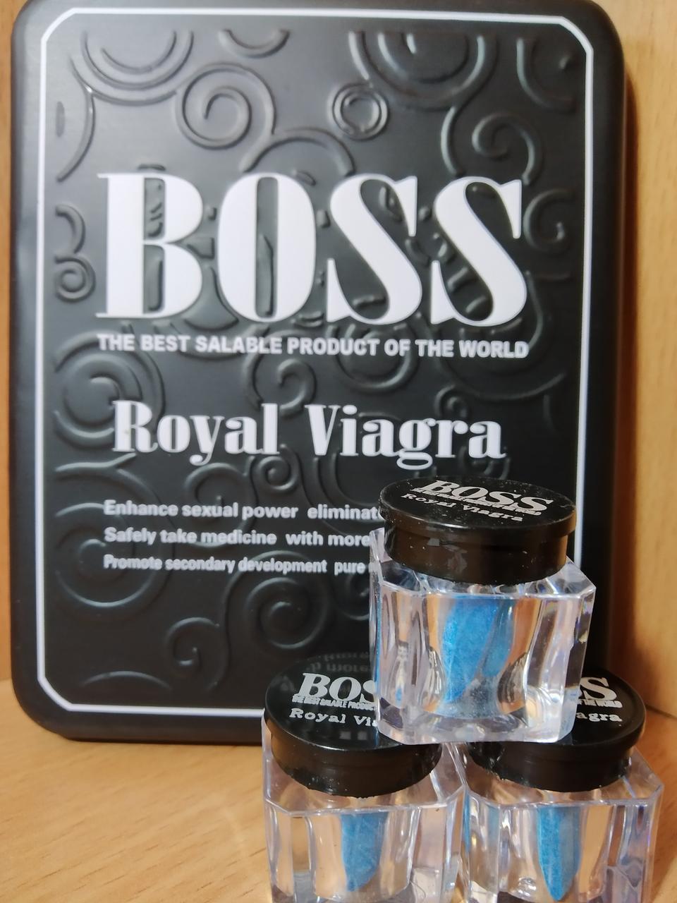 Босс Роял Препарат для мужской потенции Boss Royal (27 таблеток)