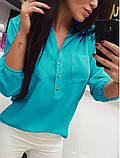 """Женская блузка большого размера """"Sellin"""", фото 6"""