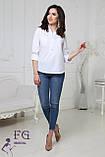 """Женская блузка большого размера """"Sellin"""", фото 8"""