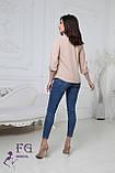 """Женская блузка большого размера """"Sellin"""", фото 9"""