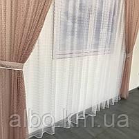 Шторы и тюль в зал комнату спальню, портьеры из сетки для зала спальни квартиры, тюль на кухню блакон сетка,, фото 6