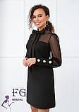 """Вечернее платье с сеткой """"Alana"""", фото 2"""