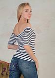 """Женская кофточка """"Only """" с открытыми плечами  Распродажа модели, фото 3"""