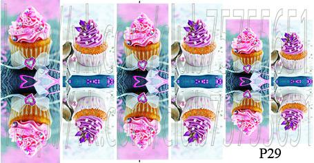 Слайдер дизайн на ногти пироженные
