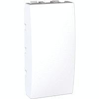 Заглушка 1 модуль, Unica белый, MGU9.865.18