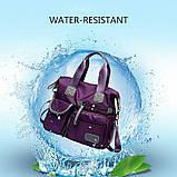 Тканинна модна жіноча сумка з кишенями ZA-2, фото 6