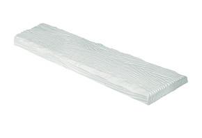 Панель Рустик ET 305 (2м) classic белая 19х3,5. DecoWood