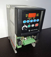 Б/У Преобразователь частоты Allen-Bradley 22B-D4P0N104 PowerFlex 40. 1,5кВт 3-ф/380, фото 2
