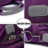 Модная тканевая женская сумочка с карманами ZA-4, фото 3