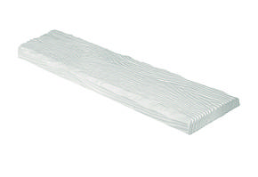 Панель Рустик ET 305 (3м) classic белая 19х3,5. DecoWood