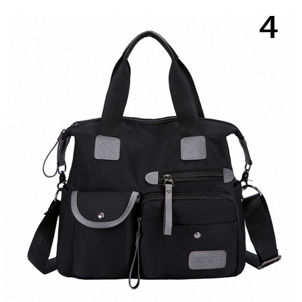Модная тканевая женская сумочка с карманами ZA-4