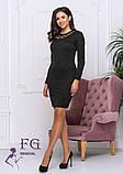 """Женское платье из ангоры """"Tina""""  Распродажа модели, фото 2"""