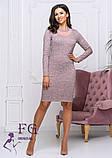 """Женское платье из ангоры """"Tina""""  Распродажа модели, фото 6"""