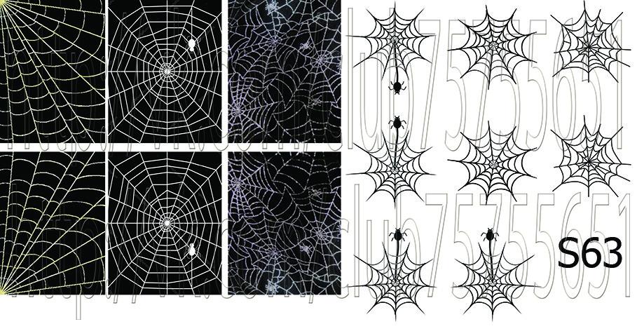 Слайдер дизайн для ногтей Хеллоуин
