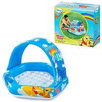 """Детский надувной бассейн Intex 58415 """"Винни Пух"""" с навесом"""