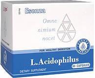 L.Acidophilus (БАД) Л. Ацидофилус: Дисбактериоз, запор, вздутие живота,понос