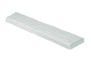Панель Рустик ET 306 (3м) classic белая 12х3,5. DecoWood