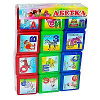 Кубики Абетка  3011 M.Toys