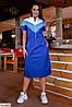 Женское стильное платье больших размеров, фото 3