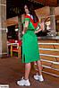 Женское стильное платье больших размеров, фото 2