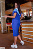 Женское стильное платье больших размеров, фото 4