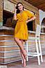 Крутое женское платье больших размеров в  разных цветах, фото 4