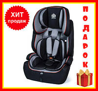 Детское автокресло BeFlye универсальное Черное, группа 1/2/3, вес ребенка 9-36 кг   Автокресло для детей