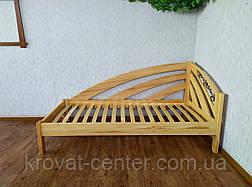 """Односпальне ліжко дерев'яна """"Веселка"""" (колір на вибір), фото 2"""