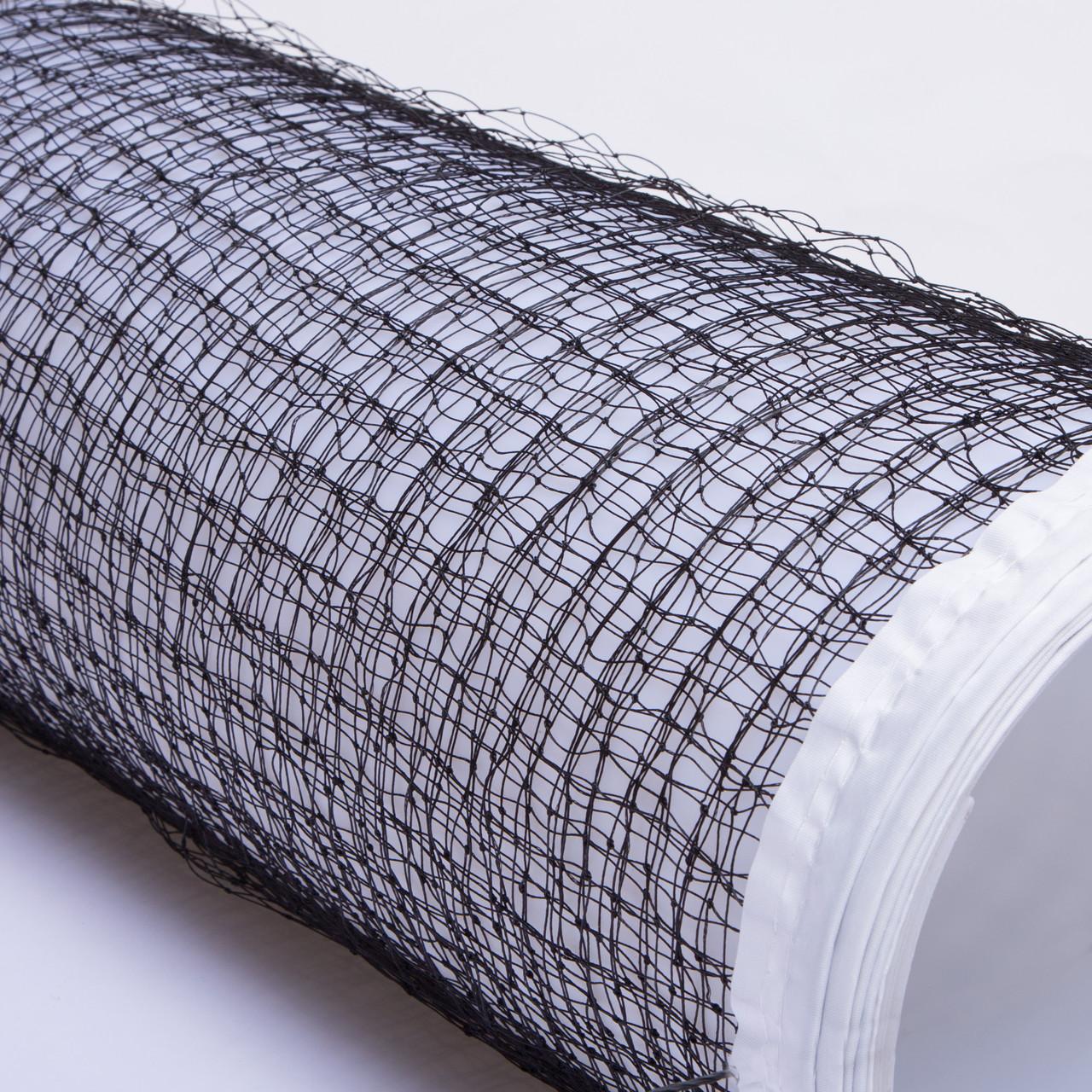 Сетка для бадминтона Zelart, полиэстер, 6x0,76м, ячейка р-р 2х2см, черный (NB-09A)