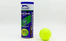Мячи для большого тенниса SLAZENGER WIMBLEDON 340884 (3 шт)