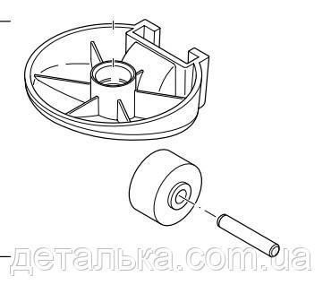 Переднее колесо для пылесоса Philips, фото 2