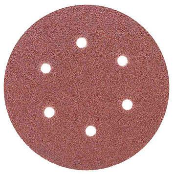 Шлифовальный круг 6 отверстий Ø150 мм P60 (10 шт) Sigma 9122241