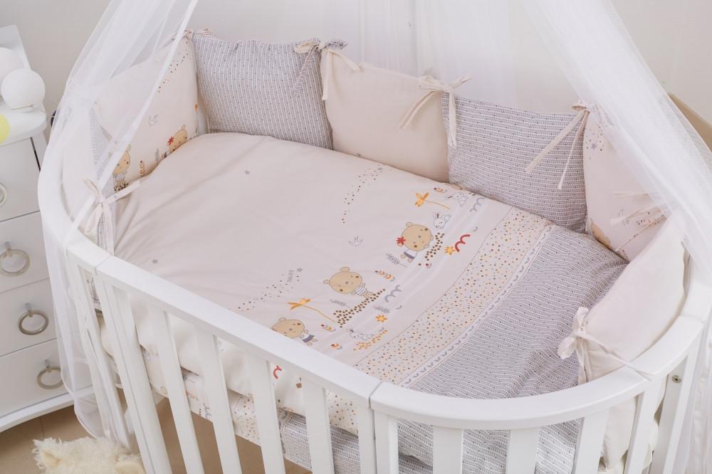 Детская постель Twins Dolce Insta 4064-D-317 Nice Day 6 элементов