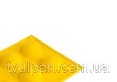 Полусфера силиконовая форма для шоколада на планшете Д 5 см 4 шт