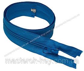Спіральна блискавка роз'ємна №5 довжина 70см колір блакитний #754