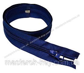 Спіральна блискавка роз'ємна №5 довжина 70см колір яскраво синій #774