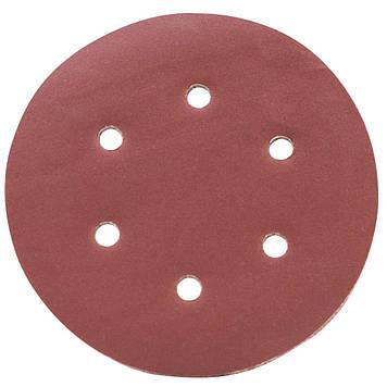 Шлифовальный круг 6 отверстий Ø150 мм P320 (10 шт) Sigma 9122331