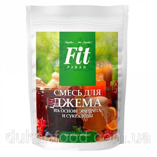 Смесь для приготовления джема на основе эритрита и сукралозы, ФитПарад