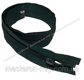 Спіральна блискавка роз'ємна №5 довжина 70см колір зелений #735