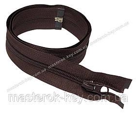 Спіральна блискавка роз'ємна №5 довжина 70см колір коричневий #570