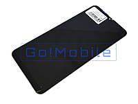 Дисплей + сенсор (модуль) Samsung A105 A10 2019, M105 M10 2019 черный оригинал (Китай)