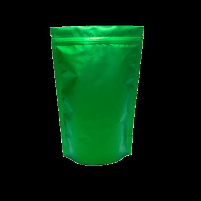 Пакет Дой-Пак зелёный 130*200 дно (32+32)