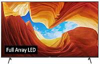 Телевизор Sony KD-75XH9096 (4K HDR процессор X1,TRILUMINOS Display, Полная прямая подсветка, Android TV)