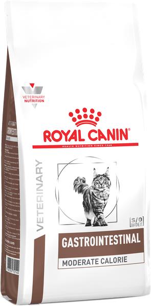 Корм для котов при нарушении пищеварения Royal Canin Gastro Intestinal Moderate Calorie Cat 2 кг