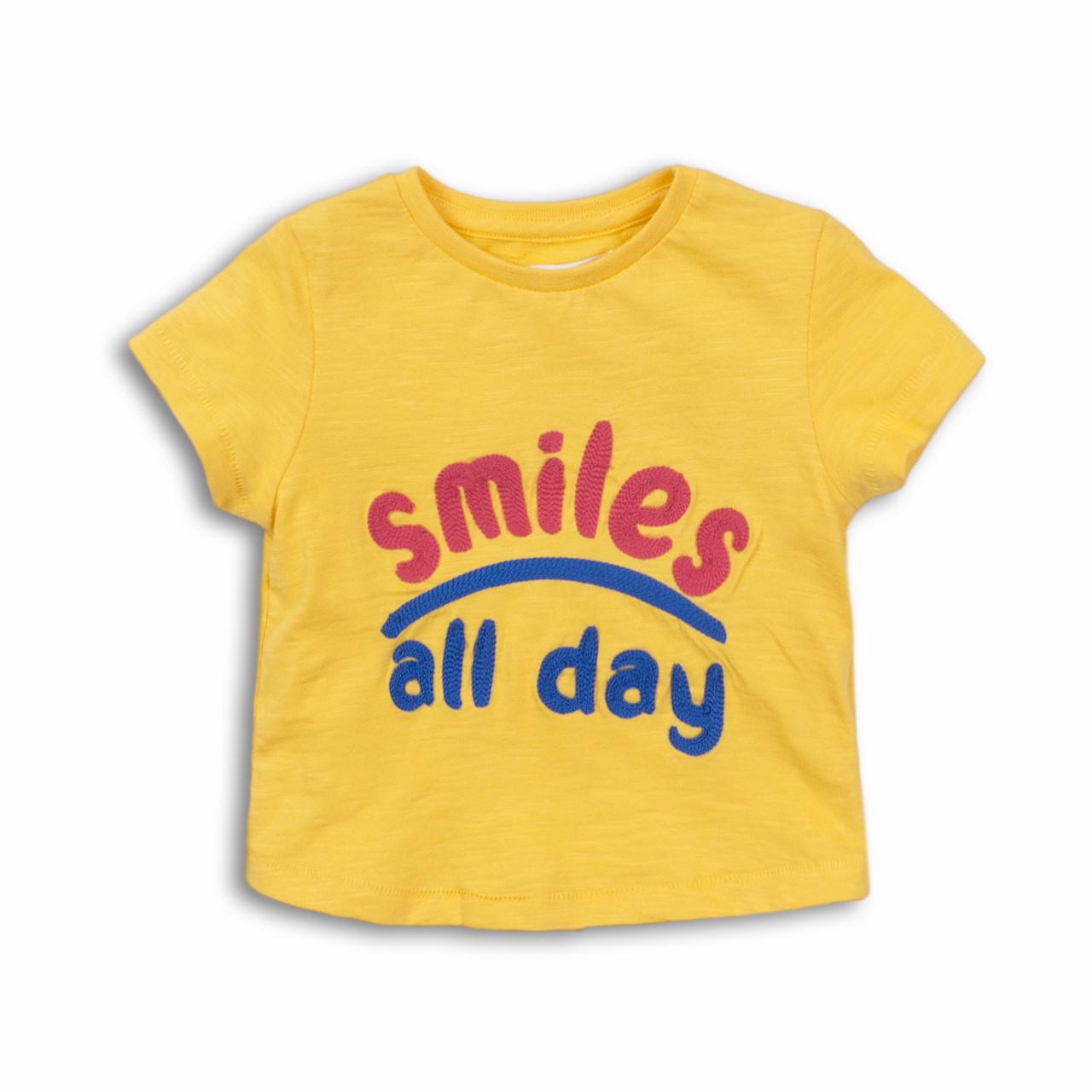 Детская футболка для девочек 1-5 лет, 74/128 см Minoti, 74-80 см