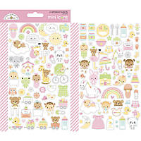 Наклейки - Mini Icons - Bundle Of Joy - Doodlebug