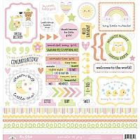 Наклейки - This & That - Bundle Of Joy - Doodlebug - 30х30