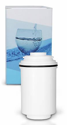 Углеродный и ультрафильтрационный (УФ) картридж для фильтра для крепления к крану FH2018-2-AQ, фото 2